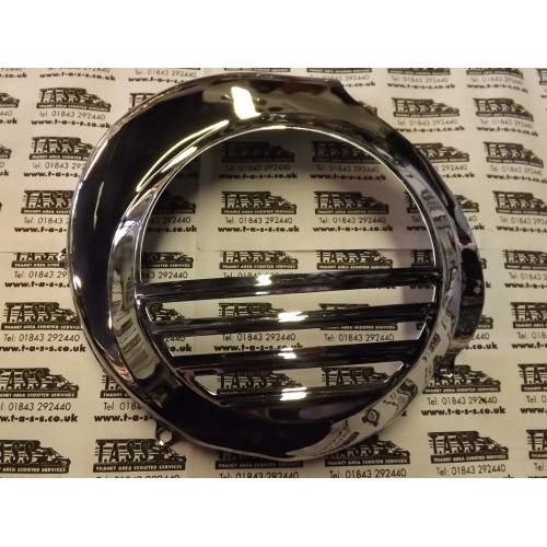FLYWHEEL COWLING HIGH QUALITY CHROME PX/LML ELEC START MODELS