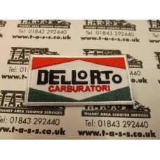 DELLORTO LOGO SEW ON PATCH