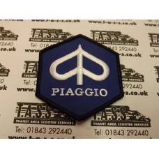 PIAGGIO HEX LOGO EMBROIDED SEW ON PATCH