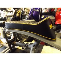 ANCILLOTTI SEAT- YELLOW LOGO AND PIPING