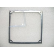 NUMBER PLATE SURROUND STAINLESS STEEL
