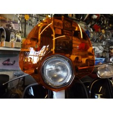 BUBBLE FLYSCREEN ORANGE SX/TV/SPECIAL
