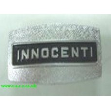 INNOCENTI HORNCASTCAST SQUARE BADGE LI/SX