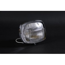GP GLASS HEADLIGHT UNIT with BLACK RIM