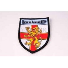 LAMBRETTA GEORGE CROSS SHIELD SEW ON PATCH