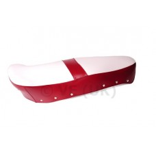 CASA LI/SX STD SEAT COVER RED AND WHITE