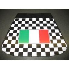 MUDFLAP ITALIAN FLAG