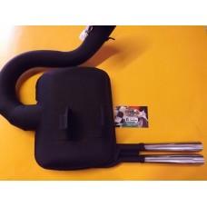 SIP ROAD 2.0 RETRO BLACK TWIN PIPE P200