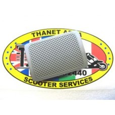 BRAKE PEDAL RUBBER GREY
