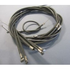 CABLE SET GREY  FRICTION  FREE LI/TV/SX DUMMY GREASE NIPPLES
