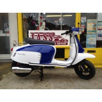 Royal Alloy GT 125 I WHITE AND BLUE