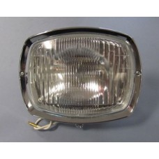 GP GLASS HEADLAMP UNIT with CHROME RIM