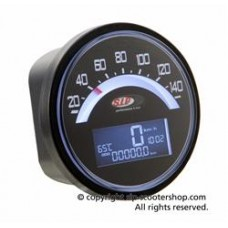 SIP SPEEDO/REV COUNTER BLACK FACE SERIES 1 & 2