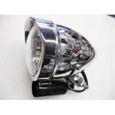 SPOT LAMP CHROME 4INCH WITH PEAK