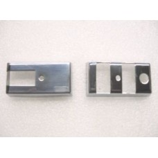 SWITCH COVERS PAIR STAINLESS STEEL VESPA PX