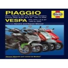 HAYNES MANUAL PIAGGIO & VESPA