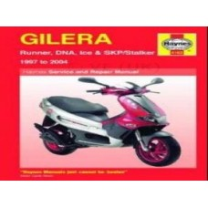 HAYNES MANUAL GILERA SCOOTERS