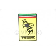 VESPA 'WASP' YELLOW SEW ON PATCH