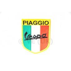 PIAGGIO VESPA ITALIAN FLAG SEW ON PATCH