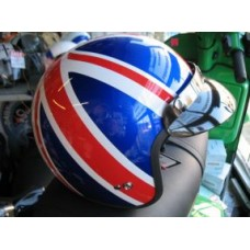 VIPER CRASH HELMET UNION JACK RS04